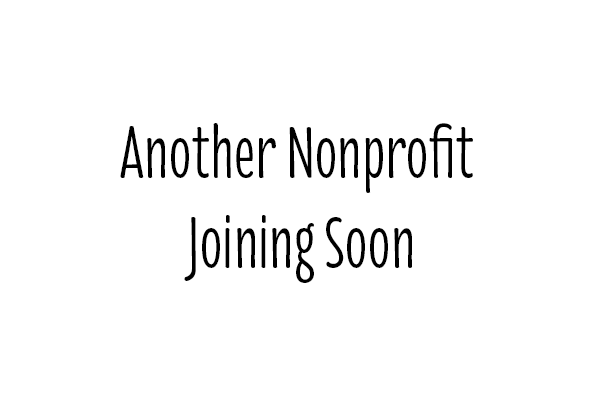 Another Nonprofit Joining Soon
