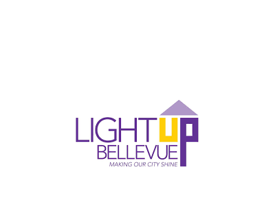 Light UP Bellevue logo